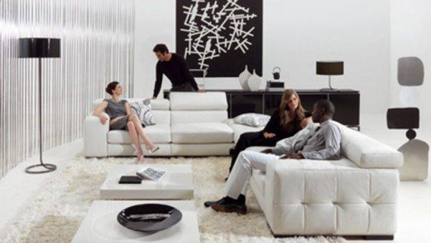 White Black Decor Decorating Ideas