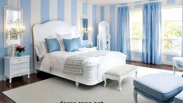 White Blue Bedroom Small Ideas Houseti