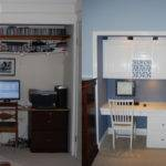 White Blue Office Closet Makeover Lifehacker Australia