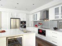 White Cabinets Appliances