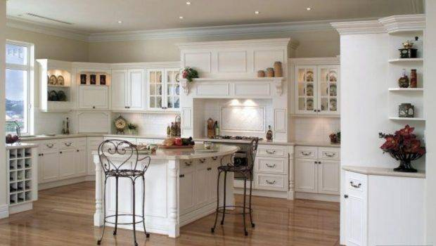 White Cabinets Kitchen Design Home Decorating Ideas