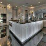White Cabinets Marble Floors Beautiful Spaces Pinterest