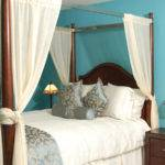 White Canopy Bed Curtain One Total Photos Best Designs