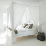 White Canopy Bed Pinterest