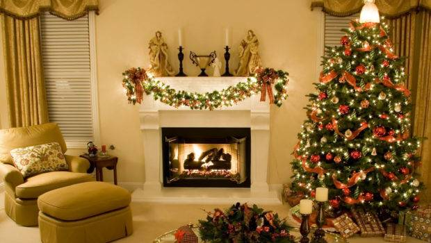 White Christmas Rooms Decosee