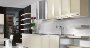 White Contemporary Kitchen Cabinets Home Design Ideas