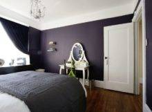 White Dark Purple Room Walls Bedrooms Wall