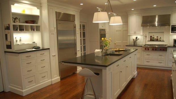 White Decor Can Affordable Antique Kitchen