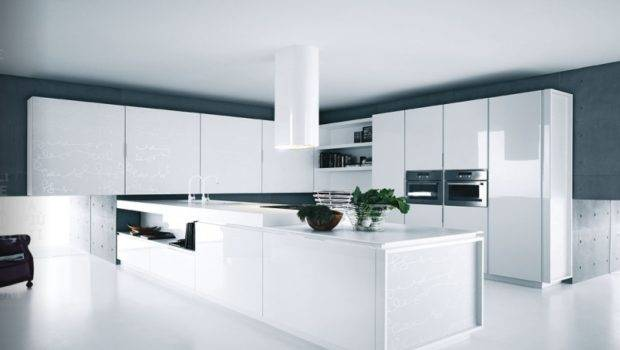 White Kitchen Cabinets Appliances Home Design Ideas