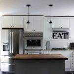 White Kitchen Cabinets Ideas Stainless Appliances House Plans