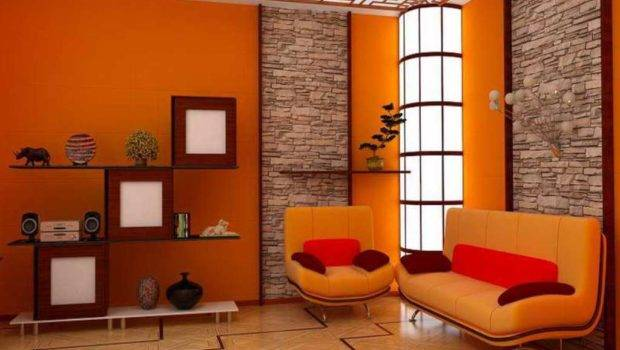 White Red Living Room Paint Ideas