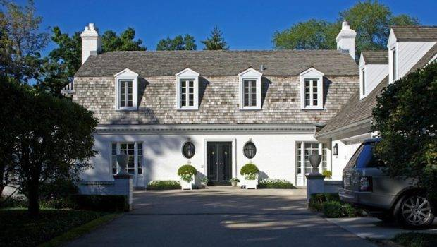White Stucco Home Traditional Exterior Northworks