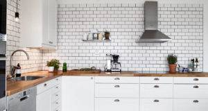 White Tiles Black Grout Kind Kitchen Coco Lapine Design