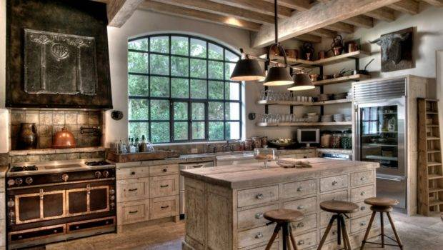 White Washed Rustic Kitchen Designs Embody
