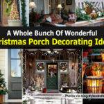 Whole Bunch Wonderful Christmas Porch Decorating Ideas