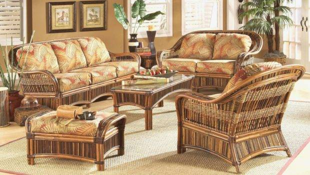 Wicker Living Room Chairs Awesome Sets