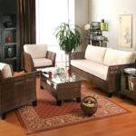 Wicker Living Room Sets Table Rattan Furniture