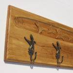 Wildlife Scene Coat Rack Entryway Tinesandtailsoutdoor