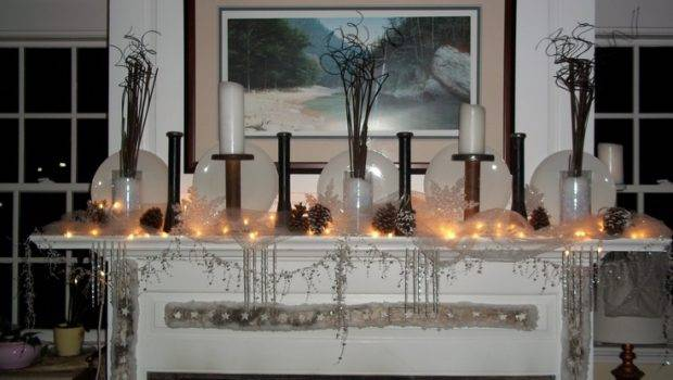 Winter Hearth Decorations Baby Its Cold Outside Pinterest