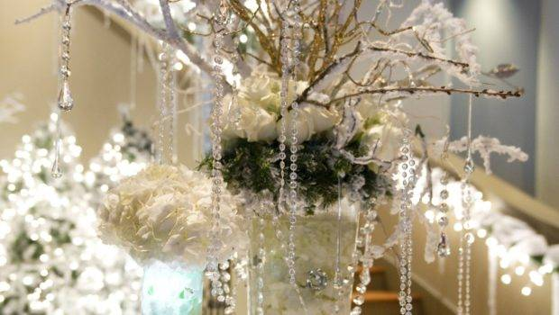 Winter Wonderland Decor Quinceanera Pinterest