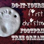 Without Obligatory Footprint Ornament Post Come Christmas Time
