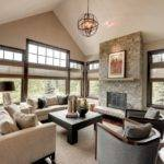 Wonderful Transitional Living Room Design