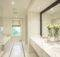 Wonderful White Marble Bathroom Design