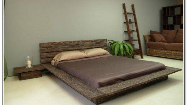 Wood Bed Frame Ideas Beds Home Furniture Design Xmaojba