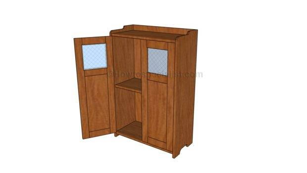 Wood Cabinet Plans Howtospecialist Build Step Diy