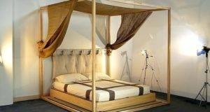Wood Canopy Beds Home Plan Ideas