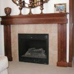 Wood Fireplace Mantel Design Interior Designs Architectures