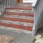 Wood Front Step Ideas Pinterest