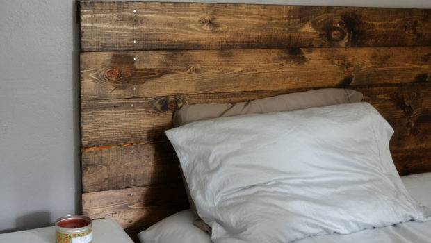 Wood Headboard One Young Love
