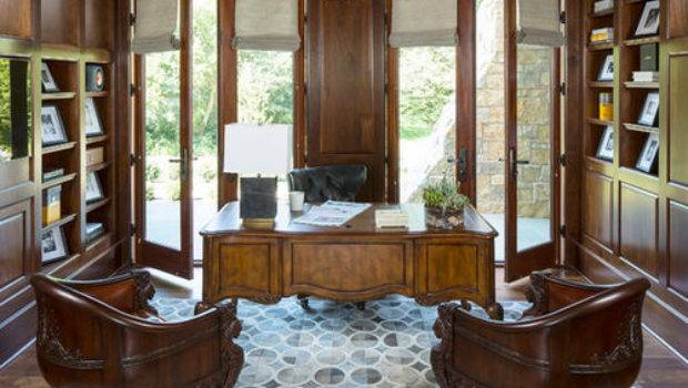 Wood Paneled Library Ideas Remodel Decor