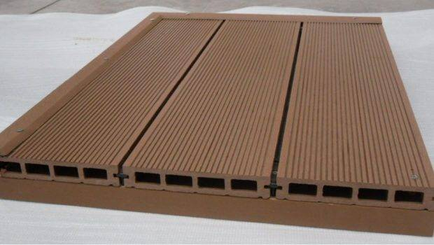 Wood Plastic Composite Hollow Planking Wpc Flooring Decking