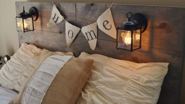 Wood Rustic Headboard Black Built Knotsandbiscuits