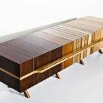 Wood Scraps Into Beautiful Fused Furniture Salvaged