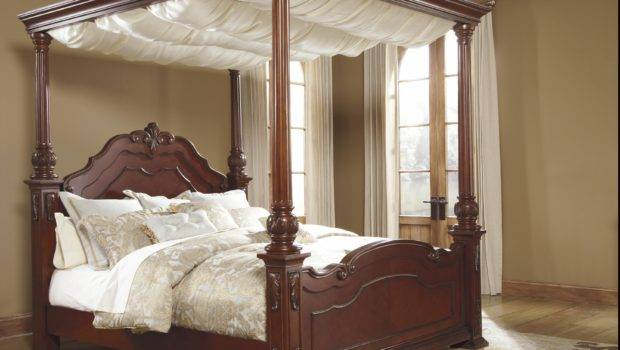 Wooden Canopy Beds Make Your Own Bed Wood