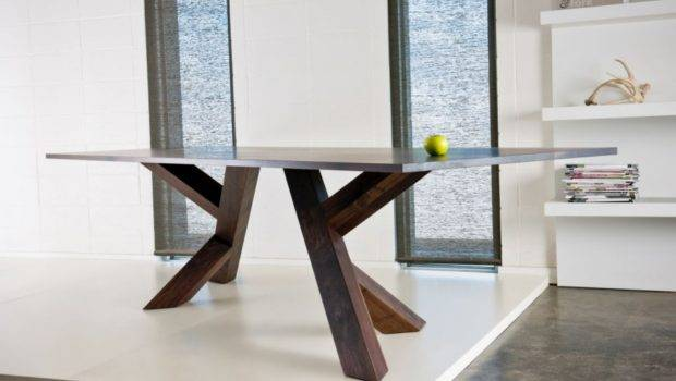 Wooden Contemporary Dining Table Ideas Modern