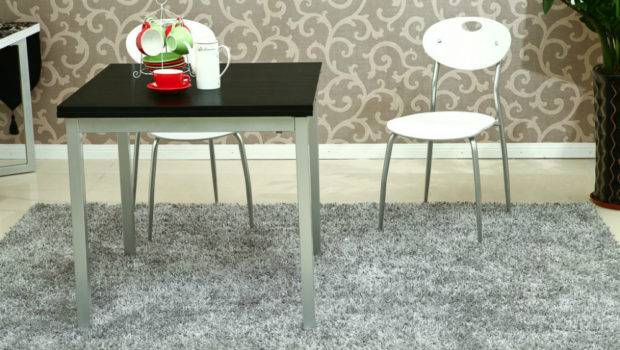 Wooden Dining Table Pull Retractable Telescopic Folding