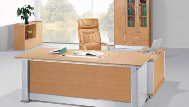 Wooden Table Modular Office Tables Design