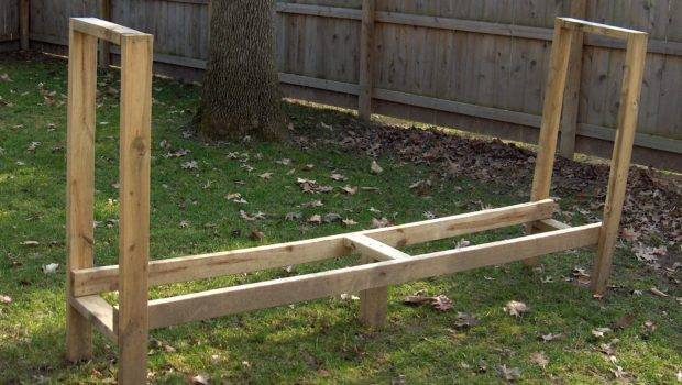 Woodworking Wooden Log Rack Pdf