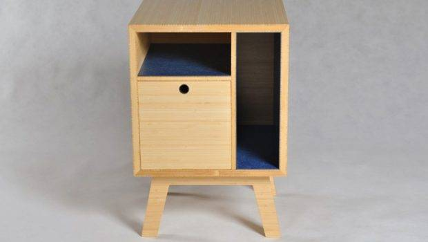 Workshopped Scott Clements Simple Bedside Table