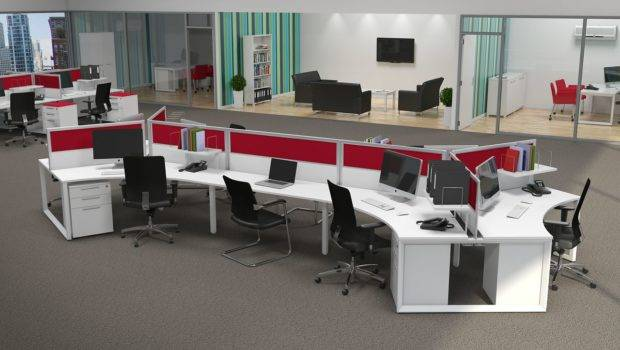 Workstation Design Inspiring Office Layout Examples