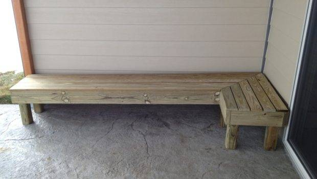 Wrap Around Patio Bench Home Outdoors Pinterest
