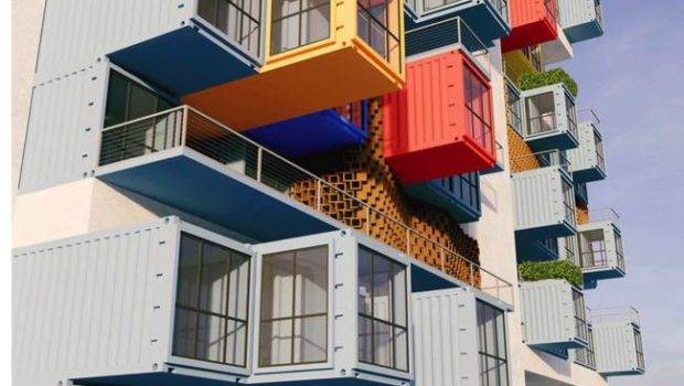 Wrong Shipping Container Housing One