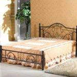 Wrought Iron Bed Metal King Four Poster