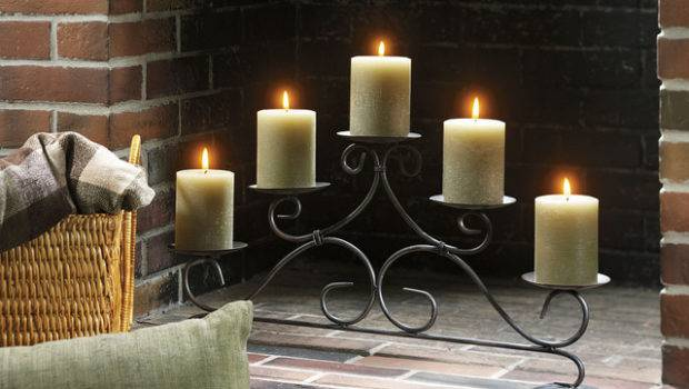 Yankee Candle Fireplace Pillar Holder Flickr