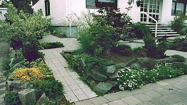Yards Cheap Landscaping Ideas Small Front House