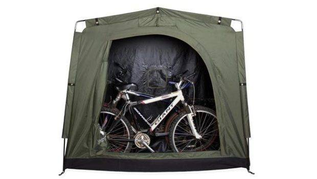 Yardstash Outdoor Bike Storage Outside Pinterest